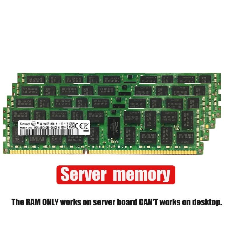 4GB 8GB 16GB 4G 8G 16G DDR3 2RX4 PC3-10600R 12800R 14900R ECC REG 1600Mhz 1866Mhz  1333Mhz PC RAM Server Memory RAM 1600