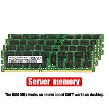 4gb 8gb 16gb 4g 8g 16g ddr3, 2rx4 PC3-10600R 12800r 14900r ecc reg 1600 memória ram do servidor mhz 1866mhz 1333mhz pc, ram do servidor 1600