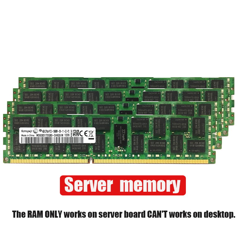 4GB GB GB 4G 8 16 8G 16G DDR3 2RX4 PC3-10600R 12800R 14900R ECC REG 1600Mhz 1866Mhz 1333Mhz PC RAM de memória RAM Do Servidor 1600