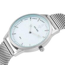 New Fashion top luxury KINGHOON brand watches men quartz watch stainless steel mesh strap ultra thin dial clock relogio masculin