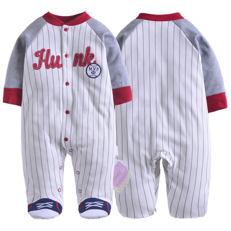 New Arrival Baby Clothes Baby Boy Girls Footed Romper Baby Rompers