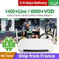 Leadcool France IPTV Q9 Android 8.1 RK3229 Quad-Core Leadcool IPTV QHDTV Subscription Arabic France Belgium Netherlands IPTV