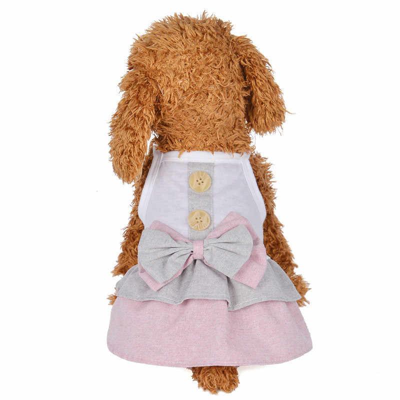 Mùa Xuân Và Mùa Hè Anh Bulldog Frances Nút Váy Bulldog Ingles Đầm Chó Trang Phục Quần Áo Thú Cưng Moletom Masculino Com Capuz