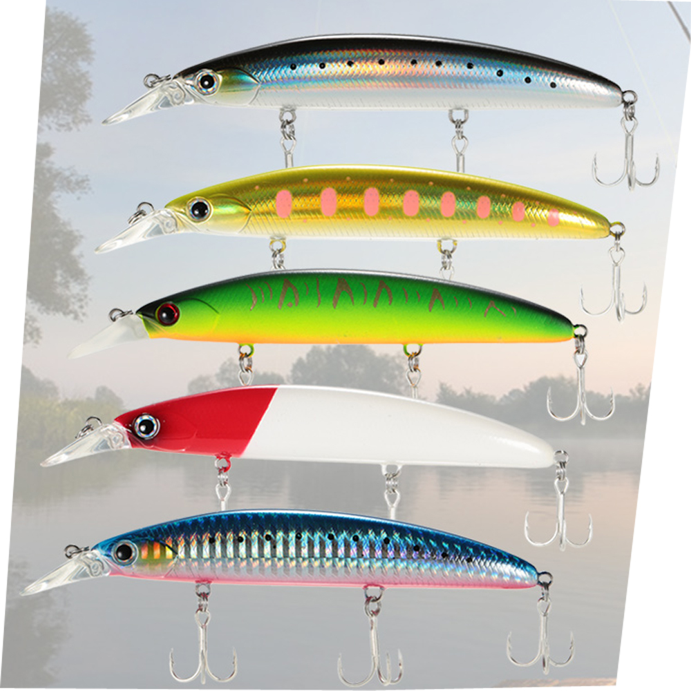 Minnows 11cm Floating Fishing Tackle Fishing Lure Fishing Accessories Hooks