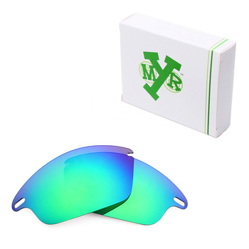 Mryok Anti-Scratch POLARIZED Replacement Lenses for Oakley Fast Jacket Sunglasses Emerald Green
