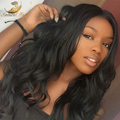 RPG Show Brazilian Virgin Human Hair Full Lace Wig Glueless Full Lace Wigs 130 Density With Bleached Knots For Black Women