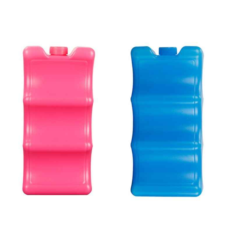 Hot Sell 600ml Reusable Ice Brick Ice Block Ice Pack Cooler Milk Storage For Cooler Bag