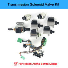 JF011E RE0F10A F1CJA Transmission Solenoids Kit Valve Body Solenoids For Nissan Altima Sentra Dodge 33510n 02 cvt jf011e re0f10a f1cja pump flow control valve