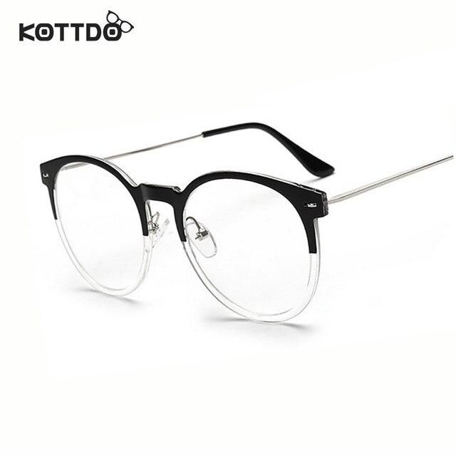 Online Shop KOTTDO Fashion Eyeglasses Frame With Clean Lens Brand ...