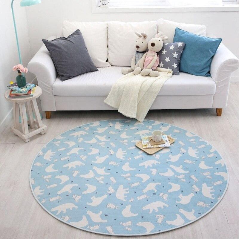 Tapis maison décorative Polyester salon moderne tapis