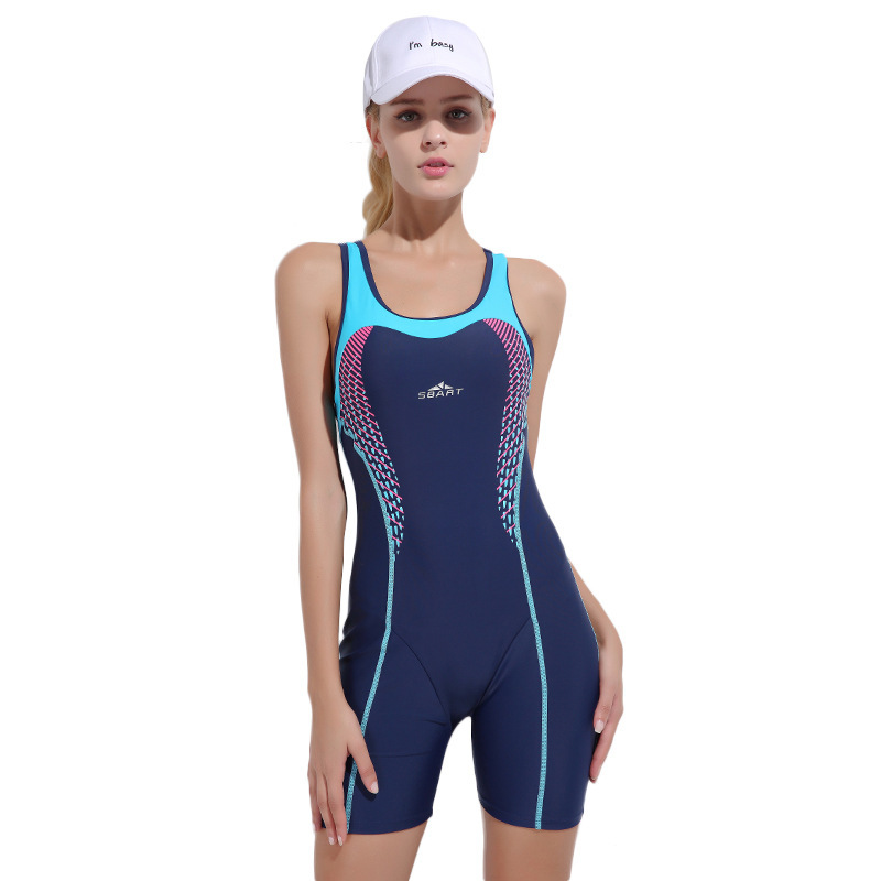 sbart New Pattern women Lin Tai Swimming Suit diving Competition Swimming Texture Material Comfortable Spelling Color Swimwear women s kung fu tai chi martial arts suit wushu wing chun performance costumes