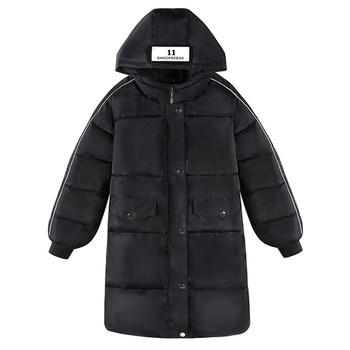 New Winter Jacket Men Women Warm Casual Parka Coat Medium-Long WaterProof Thickening Hat Jacket Thick Outwears Plus Size 4XL 5XL
