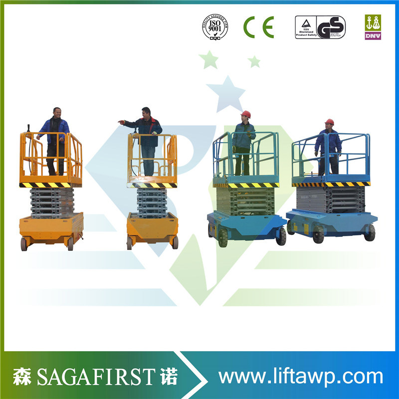 Self-Propelled Scissor Lifting Table SINOFIRST 2019 China Lifting Height 12m