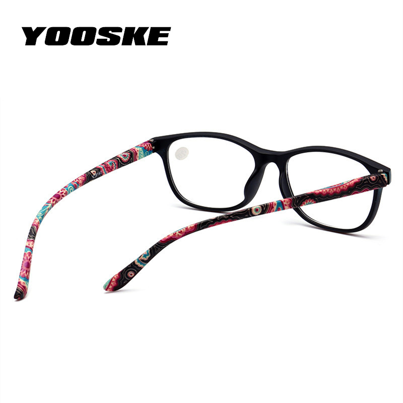 3345ac7962 Nueva aleación de titanio anti-ultravioleta plegable gafas de lectura  hombres mujeres giratoria ordenador óptico