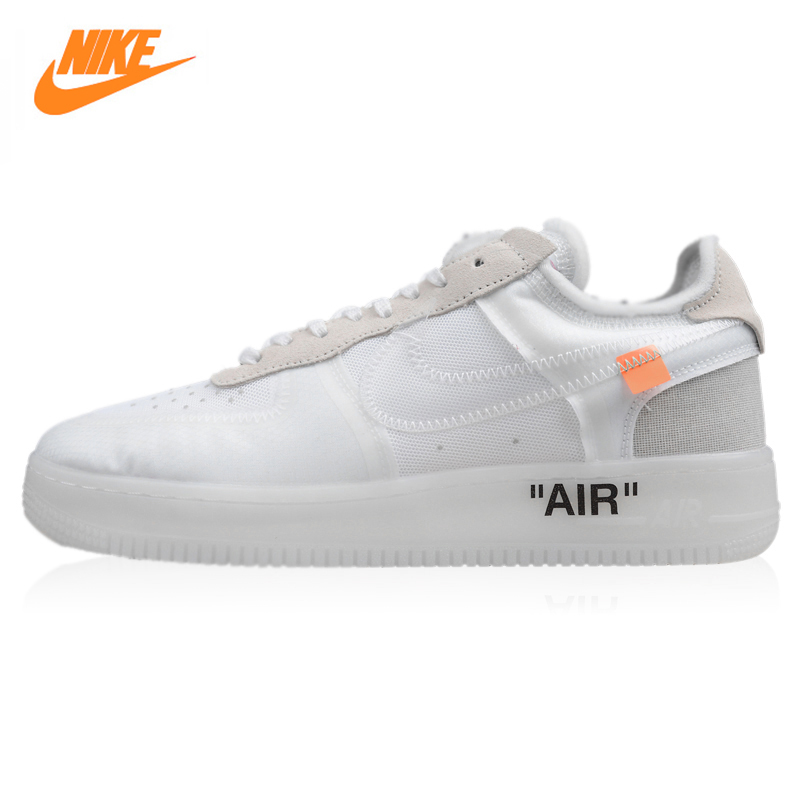 Nike OFF-White X Air Force 1 Low Men ands
