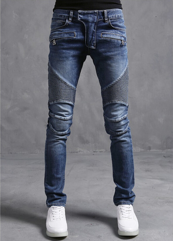 Free shipping 2015 Hot retail wholesale famous Brand mens jeans High quality business jeans men straight