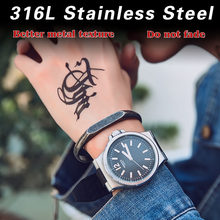 Beier retro cast titanium steel couple bracelet men and women simple fashion opening fashion bracelet LBRG-021(China)