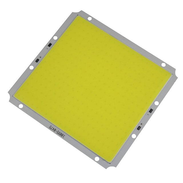 12V 40W COB LED Lamp Square Light Bulb 3000LM-4000LM Pure White for Lamp source Chip DIY 100x95MM for Solar lamp street lamp