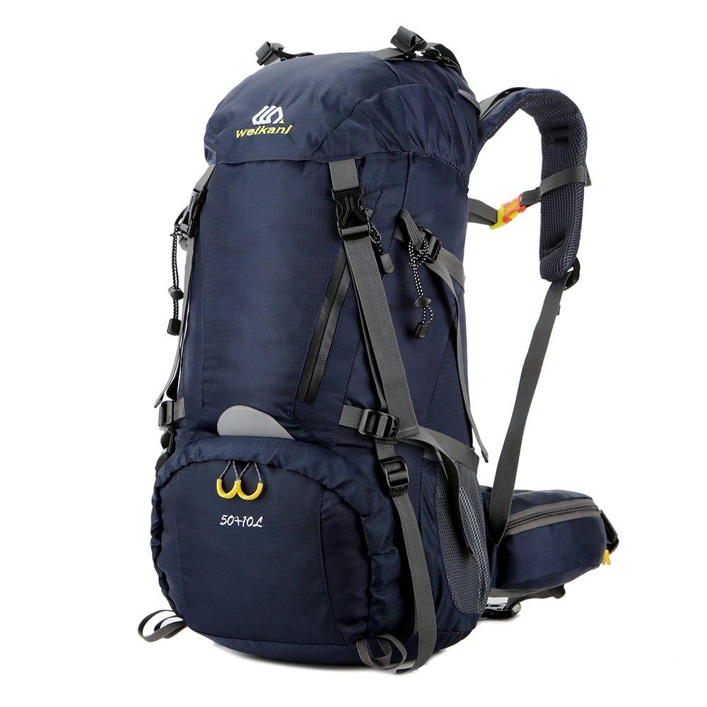 Men Women Nylon Waterproof Travel Backpack Outdoor Sport Hiking Camping Backpack