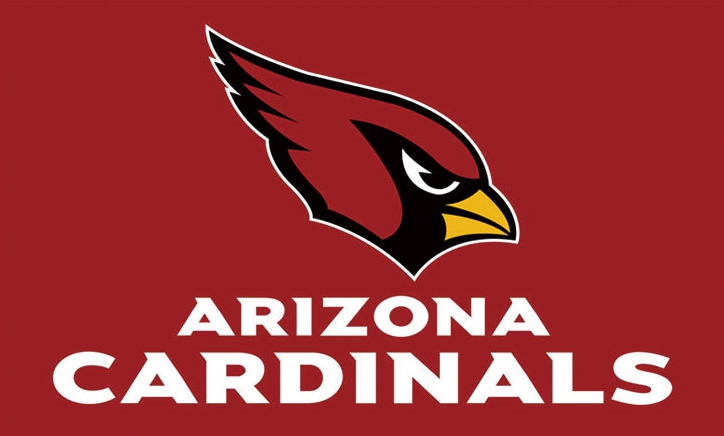 Arizona Cardinals Team Banners Flags 3ftx5ft Banner 100D Polyester Customized Flag Metal Grommets 90x150cm
