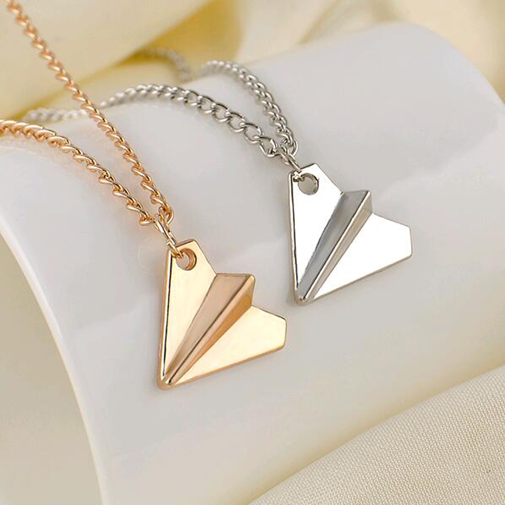 2016 hot uk 1d one direction band harry styles gold paper airplane 2016 hot uk 1d one direction band harry styles gold paper airplane pendant men women jewelry necklace necklace chain necklace in pendant necklaces from aloadofball Choice Image