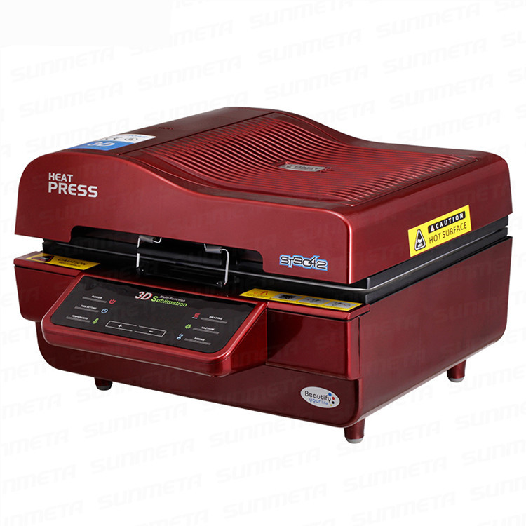 3D Multifunctional Sublimation Heat Press Machine 3D Vacuum Sublimation Heat Transfer Printing Machine Iphone case Vacuum