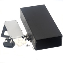 1005 Full Aluminum Enclosure / Case / Preamp box/ PSU Chassis DIY Breeze Audio цены