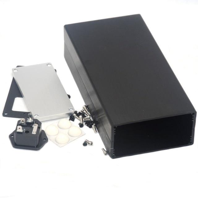 1005 Full Aluminum Enclosure / Case Preamp box/ PSU Chassis DIY Breeze Audio