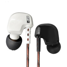 KZ HD9 Stereo Earphone dengan Mikrofon untuk XiaoMi Telefon dengan HD Mic HiFi Headset Bass Earpieces Monitor Fon Telinga Andriod iOS