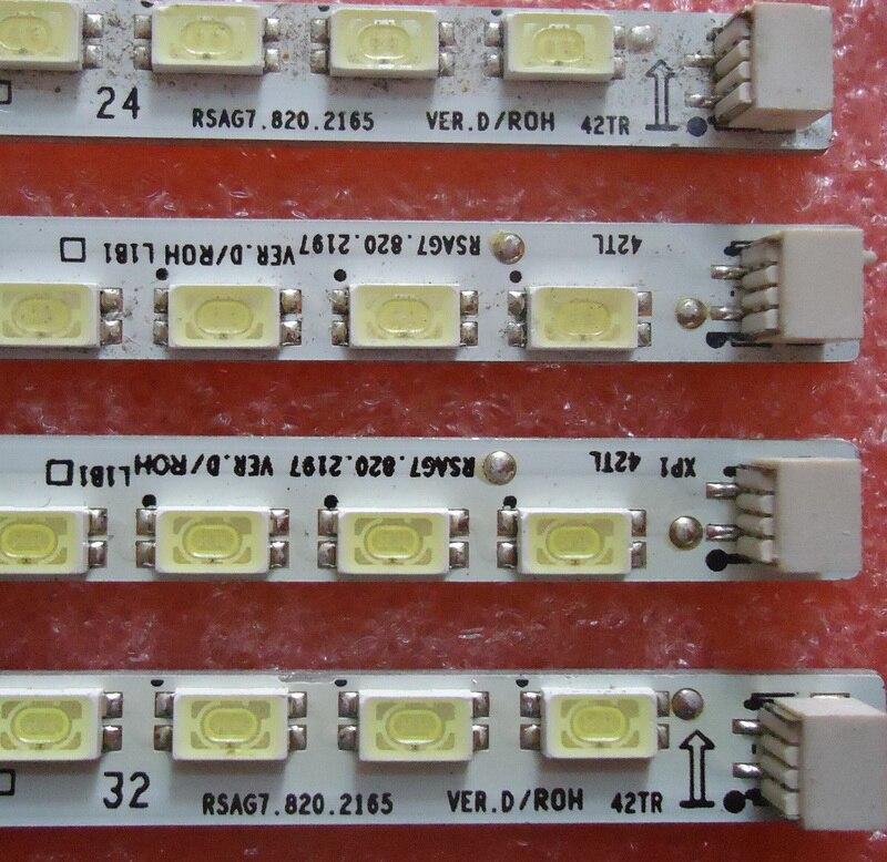 Screen LED42K11PG RSAG7.820.4243 RSAG7.820.4241 Led Backlight 1pcs=62led 475mm