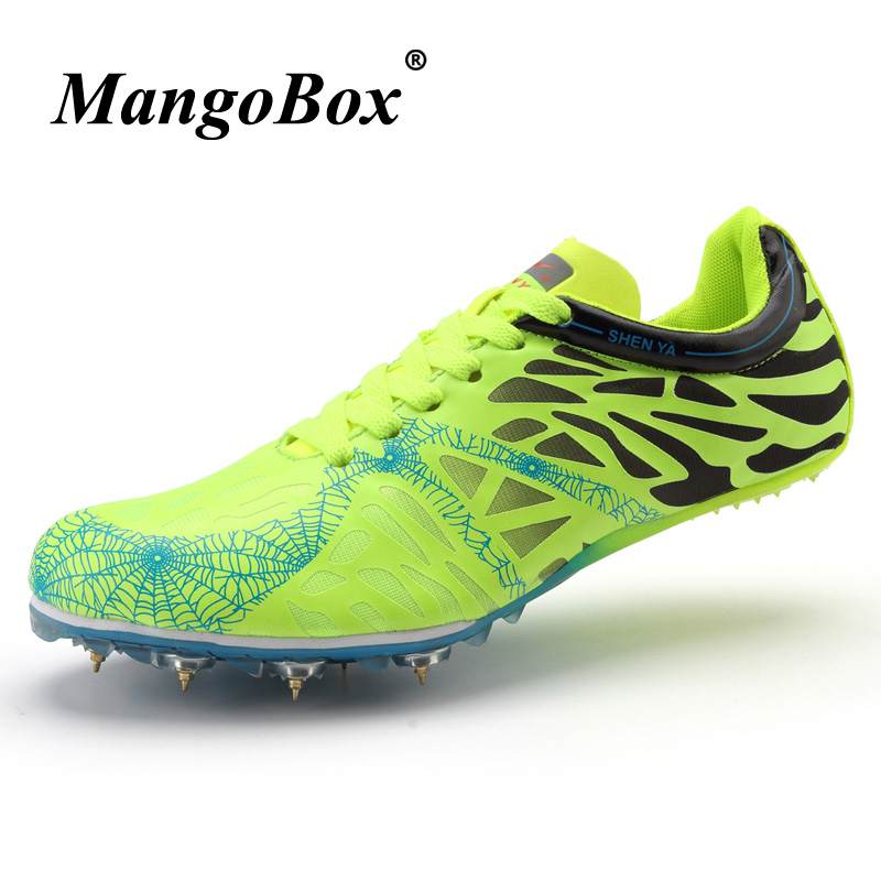 Men And Women Track And Field Shoes Brand High Jump Nail Spikes Children Boys Athletics Spike Shoes Best Running Spikes Trainers