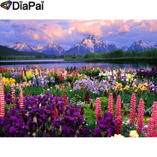 DIAPAI Diamond Painting 5D DIY 100% Full Square/Round Drill Flower landscape Diamond Embroidery Cross Stitch 3D Decor A24765 diapai diamond painting 5d diy 100% full square round drill flower landscape diamond embroidery cross stitch 3d decor a24368