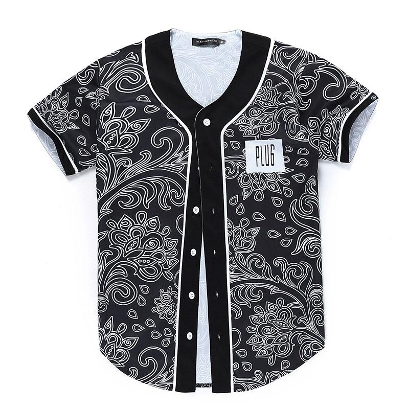 Buy 2016 autumn winter bandana print for Mens dress shirt monogram location