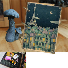 Retro DIY Scrapbooking Photo Album Handmade Craft  Memory Baby Travel Gifts wedding