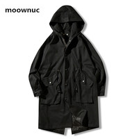 2019 spring Trench Coat men's fashion Classic Windbreaker high quality Mens Clothing Long Jackets Casual Overcoat men