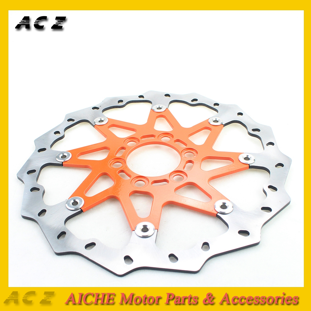 ACZ Motorcycle Replacement Floating Front Brake Disc Rotor Aluminum Brake Disk For KTM 125 200 390