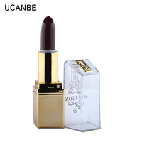Professional Makeup Brand 6 Colors Creamy Velvet Matte Lipstick Makeup Moisturizing 24 Hours Lasting Waterproof Charming