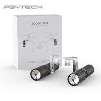 PGYTECH New Zoom LED Light Lighting For DJI Phantom 4 PRO / Phantom 4 / Phantom 4 Advanced Camera Drone Accessories