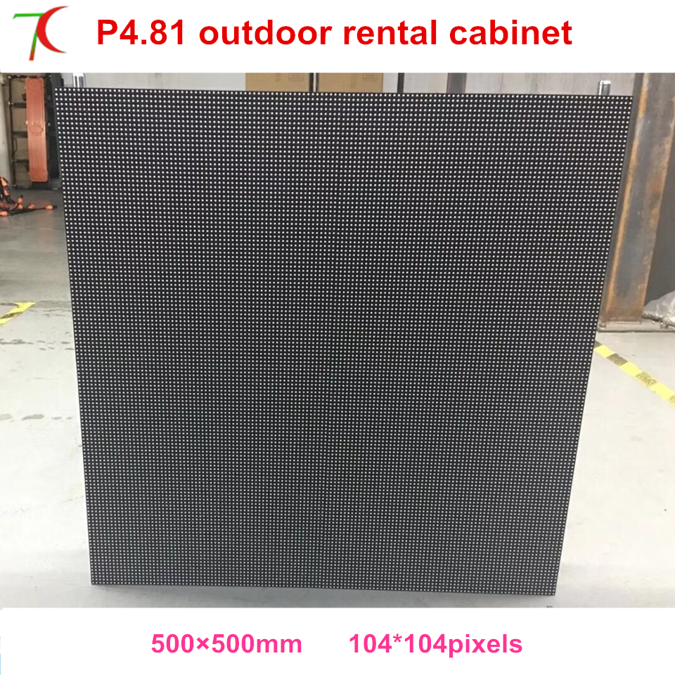 P4.81 outdoor 500*500mm waterproof die-casting aluminum cabinet display , SMD,13scan,43624dot/sqmP4.81 outdoor 500*500mm waterproof die-casting aluminum cabinet display , SMD,13scan,43624dot/sqm