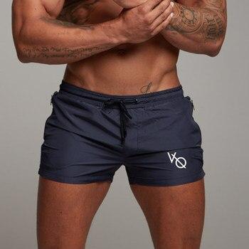 Men Gyms Fitness Bodybuilding Shorts