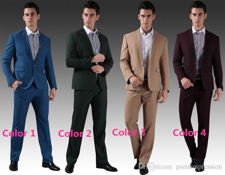 New Arrival Best Ing 10 Colors Groom Tuxedos Man Suit Dinner Wedding Groomsman Men Suits Bridegroom Formal Custom In From S Clothing