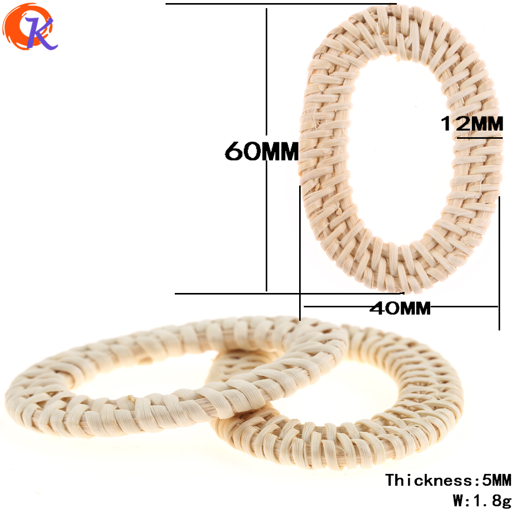 Cordial Design 20Pcs/Bag (Choose Designs) Jewelry Findings/Jewelry Making/DIY/Rattan Charm/Various Shapes/Embellishments/Earring