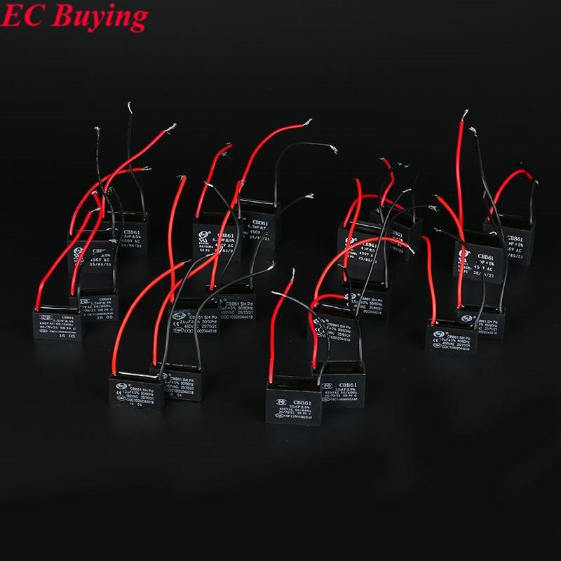 Berühmt Cbb61 Lüfter Kondensator 3 Draht Zeitgenössisch ...