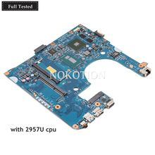NOKOTION NBMK211002 NB.MK211.002 for Acer ASPIRE E1-432 laptop motherboard 48.4YP21.031 2957U CPU 820M GPU DDR3
