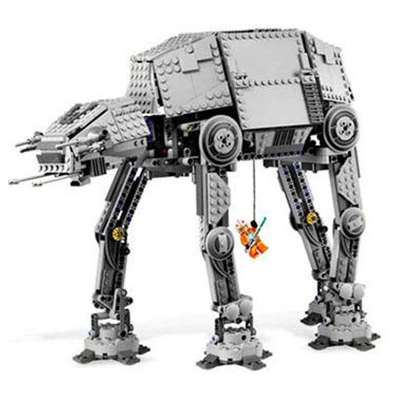 Lepin 05050 Star Series Wars The Motorized Walking AT Model AT Building Blocks Set Compatible Legoing 10178 for children 05050 lepin star wars motorized walking at at model building blocks classic enlighten figure toys for children compatible legoe