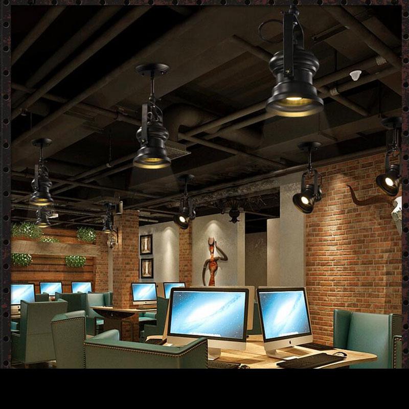 pingente de madeira do vintage o moderno restaurante bar decorada 02