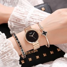 2019 GEDI Fashion Rose Gold Silver Women Watches Top Luxury Brand Ladies Quartz Watch 3 Pieces Watch Relogio Feminino Hodinky 2018 new hot gedi fashion ceramic women watches top luxury brand ladies quartz watch 2 pieces watches relogio feminino hodinky