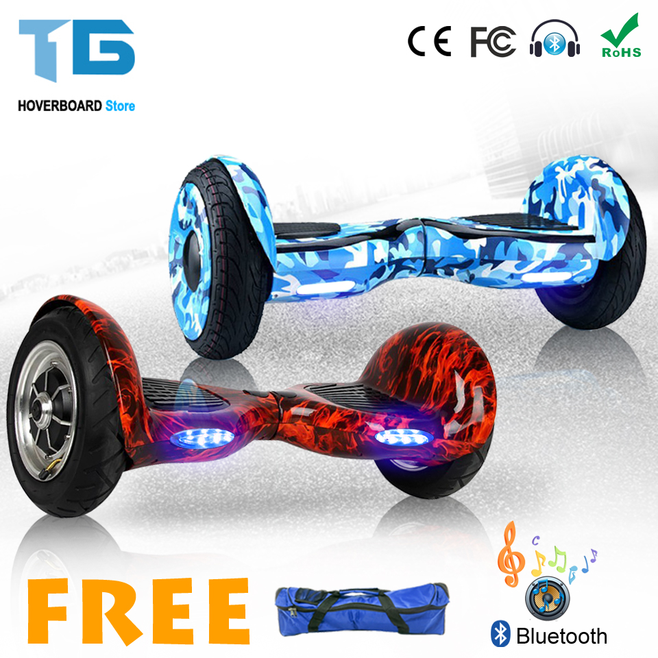 Self Balancing Scooter Adult Electric Skateboard Hoverboard 10 inch 36v Lithium Battery 10 inch Solid Tyre Or Pneumatic Tyre iscooter 10inch hoverbaord samsung battery electric self balancing scooter for adult kids skateboard 10 wheels 700w hoverboard