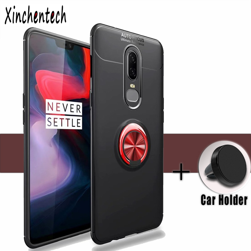 sFor <font><b>Oneplus</b></font> <font><b>6T</b></font> 1+<font><b>6t</b></font> <font><b>Case</b></font> Silicone Soft TPU Back Cover Accessories Armor <font><b>Case</b></font> On <font><b>Oneplus</b></font> 6 <font><b>6T</b></font> 1+6 <font><b>6t</b></font> Fundas <font><b>Bumper</b></font> With Magnet image