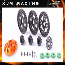 1/5 rc car High speed revolution Gear ratio 20T 21T 22T/54T 53T 52T for 1/5 scale hpi km baja 5b/5t/5sc toy parts